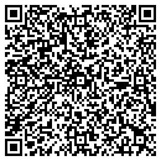 QR-код с контактной информацией организации РАДУГА КАФЕ