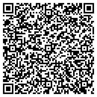QR-код с контактной информацией организации БЛОК ЧОП