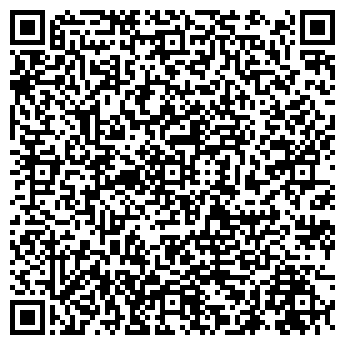 QR-код с контактной информацией организации ООО ПОЛЮС-ТУР
