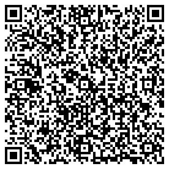 QR-код с контактной информацией организации АТМОСФЕРА ПРАЗДНИКА ООО
