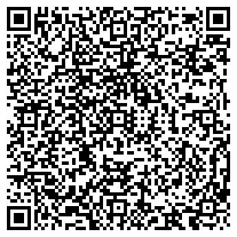 QR-код с контактной информацией организации ЧЕРНАЯ КОШКА КАФЕ