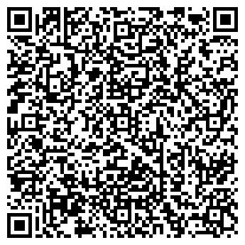 QR-код с контактной информацией организации Фитнес клуб Атмосфера