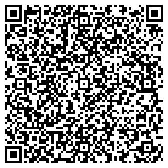 QR-код с контактной информацией организации АКАДЕМИЯ ТАНЦА