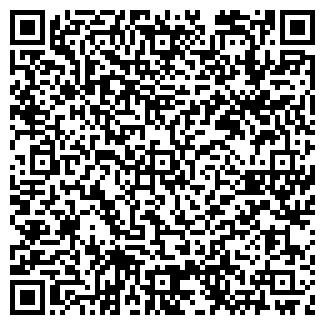 QR-код с контактной информацией организации ДВЕРИ-МЕРИДИАН