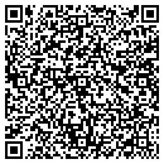 QR-код с контактной информацией организации КАМИНЫ