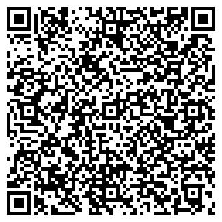 QR-код с контактной информацией организации АВВА, ООО