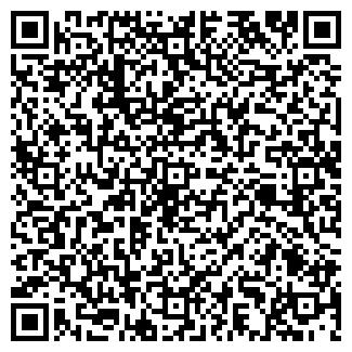 QR-код с контактной информацией организации ООО ЧАЙКА