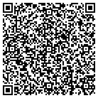 QR-код с контактной информацией организации ПЛАСТИКОВЫЕ ОКНА KBE