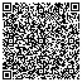 QR-код с контактной информацией организации РАДУГА ОКНА