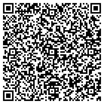 QR-код с контактной информацией организации КОРЕЙСКИЙ ДОМ КАФЕ