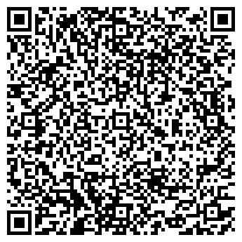 QR-код с контактной информацией организации АТЛАНТИДА, ЗАО