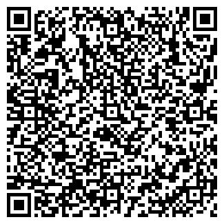 QR-код с контактной информацией организации МАГАЗИН 123, ООО