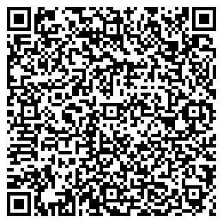 QR-код с контактной информацией организации ДВА КРЫЛА