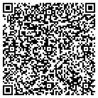 QR-код с контактной информацией организации САЛОН ПРИЧЕСКИ И ВИЗАЖА