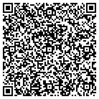 QR-код с контактной информацией организации АкваРеал, ТМ