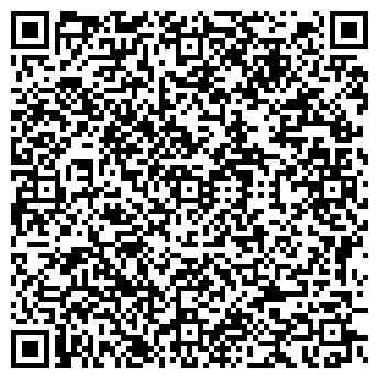 QR-код с контактной информацией организации Nail extension