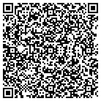 QR-код с контактной информацией организации Мир Цветов, ИП