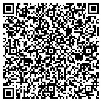 QR-код с контактной информацией организации малинки