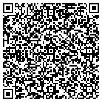 QR-код с контактной информацией организации Такси MEGA, ЧП