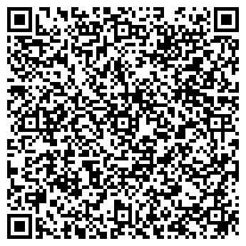 QR-код с контактной информацией организации Конфетти, ИП