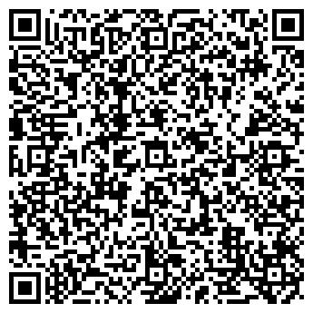 QR-код с контактной информацией организации Диана, студия фрески