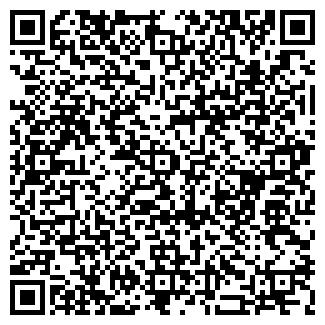 QR-код с контактной информацией организации Геодата