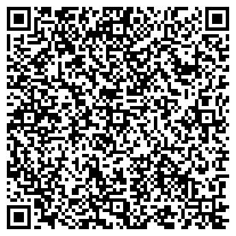 QR-код с контактной информацией организации Dekor Door