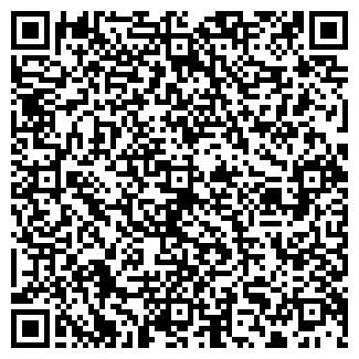 QR-код с контактной информацией организации ЗАО ПТИУС