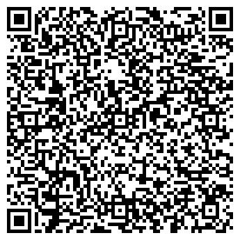 QR-код с контактной информацией организации ТОО Афинити