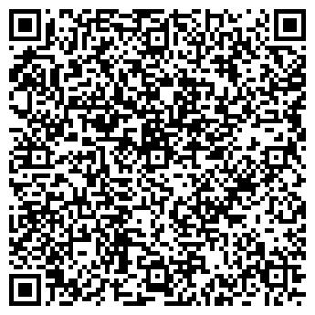 QR-код с контактной информацией организации Хутро Х, ООО