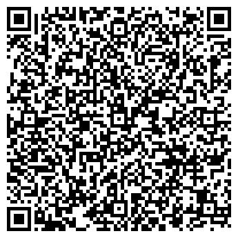 QR-код с контактной информацией организации ООО «Лев на стреле»