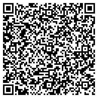QR-код с контактной информацией организации АХУНОВСКАЯ СОШ