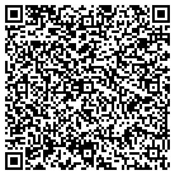 QR-код с контактной информацией организации Тихий пруд