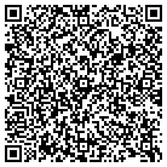 QR-код с контактной информацией организации МедИнСервис, АО
