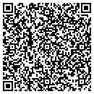 QR-код с контактной информацией организации МАГАЗИН BISON