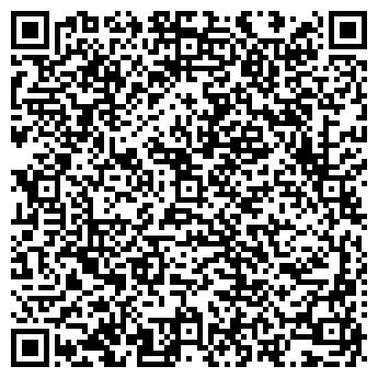 QR-код с контактной информацией организации АКТИВ ДИЗАЙН