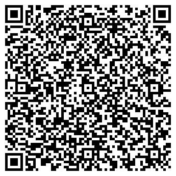 QR-код с контактной информацией организации ООО САНОВА