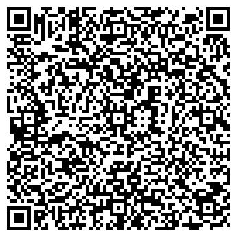 QR-код с контактной информацией организации СЦ «Флора»