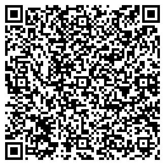 QR-код с контактной информацией организации АВТО, АЗС