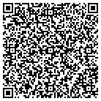 QR-код с контактной информацией организации Глассдизайн, ЧП