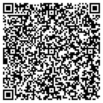 QR-код с контактной информацией организации РесторанИнвест, АО