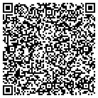 QR-код с контактной информацией организации салон Тонус