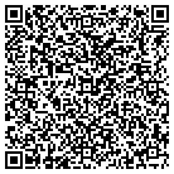 QR-код с контактной информацией организации Интерсаванна, ОДО