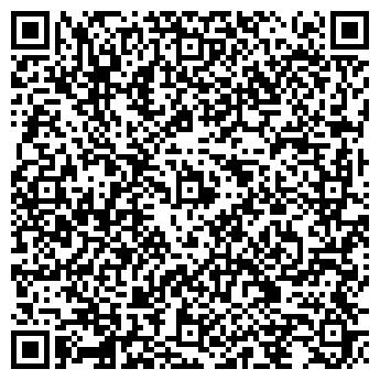QR-код с контактной информацией организации Модный Шоппинг