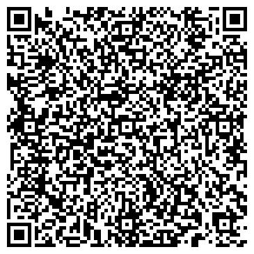 QR-код с контактной информацией организации Фитнес клуб