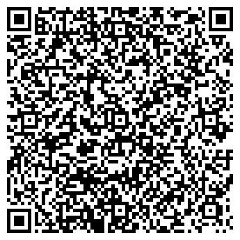 QR-код с контактной информацией организации Автозапчасти, ИП