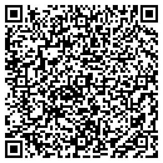QR-код с контактной информацией организации ООО МЕГА-ПЛАСТ