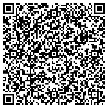 QR-код с контактной информацией организации Каминный Дом