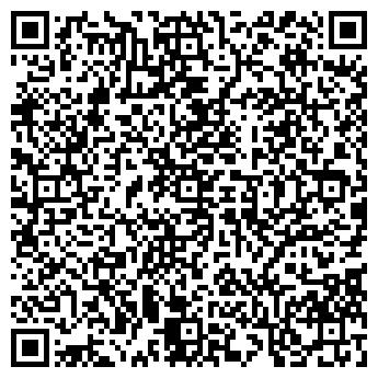 QR-код с контактной информацией организации Камины, ИП