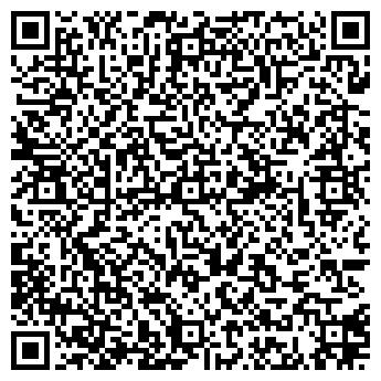 QR-код с контактной информацией организации Пейнтбольний клуб DELTA